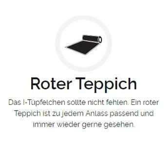 Roter Teppich in  Mössingen